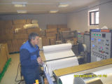 Máquina de revestimento lateral dobro da espuma com certificado do CE