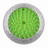 Смолаа стали 316 СИД подводная светлая Stainlss ультра тонкая полная заполнила аттестованный UL RoHS Ce светильника плавательного бассеина света бассеина СИД