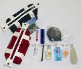 Kits de equipamiento de línea aérea Kits de viaje Bolsas de viaje Kit de amenidades de vuelo Conjunto de líneas aéreas Cepillo de dientes