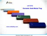 UHF RFIDの手段制御陶磁器の反金属の札