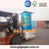青い画像(NCRのペーパー)の中国のCarbonlessコピー用紙