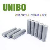 Перезаряжаемые батарея Li-Полимера LiFePO4 лития (18650 2000mAh)