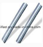 Rods et boulon galvanisés de goujon filetés par DIN975/DIN976