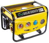 Heißes Sale 2kw 5.5HP Copper 100% Wire Portable Industrial Gasoline Generator (2600DXE-B)