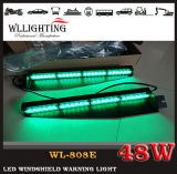 Suction Cupの48W LED Warning Dash Visor Light