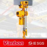 5ton escogen el alzamiento de cadena eléctrico de cadena de la velocidad 2-Fall