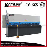 Máquina de estaca hidráulica do metal de folha do CNC de QC12k/QC12y