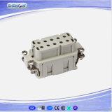 250V 16A 10pins Op zwaar werk berekende Stoppen Harting en Contactdozen