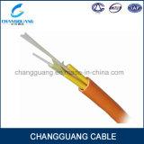 Núcleos impermeáveis apertados das modalidades das finalidades do cabo da fibra do cabo da fibra óptica do amortecedor da fuga de Gjbfjv cabo ótico da fibra dos multi multi multi em linha