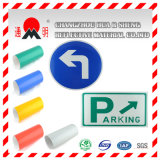 Película que cubre reflexiva del grado de la ingeniería para las señales de tráfico de camino que dirigen la tarjeta de la muestra (TM7600)