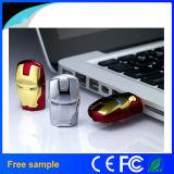 Movimentação de alta velocidade da pena do USB 2.0 da máscara do homem do ferro do Avenger 16GB