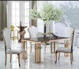 椅子のステンレス鋼のレストランの家具を食事する現代ホテル