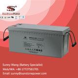 Batteria solare acida al piombo sigillata dell'invertitore di manutenzione liberamente 12V 200ah