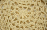 Parte superiore di serbatoio del Crochet delle signore con il bordo della frangia