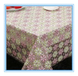 NT Lace Tablecloth del PVC in Factory Wholesales