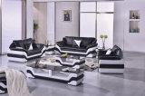 Sofá de couro secional Home moderno