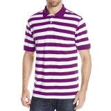 Camicia di polo casuale all'ingrosso della banda delle camice di polo del cotone degli uomini