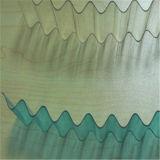 Feuilles en plastique ondulées de toiture de polycarbonate transparent
