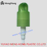 緑色のプラスチックローションポンプ