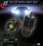 O marcador do diodo emissor de luz de E39 80W 16LED Canbus para o anjo Eyes o guia claro