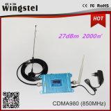 파란 GSM/WCDMA980 900/2100MHz 2g 3G 셀룰라 전화 신호 Amplifer