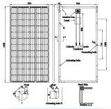 Панель солнечных батарей 300W Transparent Tpt Mono высокого качества (AE300M6-72)