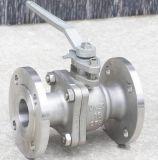 Il ghisa DIN3202 in pieno alesa la valvola a sfera (Q41F)