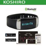 Resistente al agua de ritmo cardíaco reloj pulsera inteligente