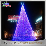 Artificial Outdoor Spiral LED Christmas Tree Flashing Gigante Decoração Light