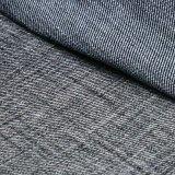 Tessuto viscoso del denim dello Spandex del poliestere del cotone nero per i jeans