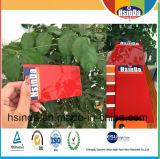 Enduit lumineux rouge de poudre d'application électrostatique de peinture de Ral 3002