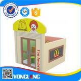 Patio de interior del teatro plástico de la fábrica del juguete de la diversión de China (YL-FW0008)