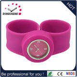 Promoção Sport Wrist Rubber Silicone Slap Fashion Watch Merry Christmass Gift (DC-104)