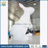 Гигантский раздувной шарик луны, раздувной воздушный шар с кроликом для случаев