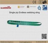 ASME B30.9 мы 3 подъемного стропа Webbing Ply (TS-W08-08)