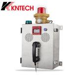Telefono Knzd-41 di estrazione mineraria del segnalatore d'incendio di incendio del telefono di industria del microtelefono