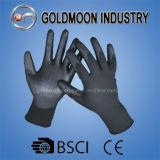 le polyester 13gauge/unité centrale en nylon de doublure a enduit le gant de travail de sûreté