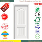 Porte en bois de PVC de porte de porte insonorisée