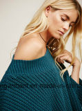 Ponticello caldo del maglione di vendite di modo delle donne dell'OEM (W17-692)