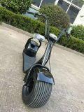 Motorino elettrico di Citycoco Harley del pneumatico grasso popolare del motorino 1000W 60V 20ah di Holyso (YC-2016010)