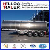 3 acoplado de aluminio del depósito de gasolina de aceite de los árboles 42000L para la venta