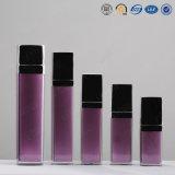 bouteille de empaquetage cosmétique de luxe carrée acrylique en plastique de qualité de 15ml 30ml 40ml 50ml 80ml 120ml 130ml