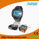 Monitor queimado caloria da frequência cardíaca do pulso com o temporizador da contagem para baixo (JS-713A)