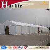 Barraca industrial provisória do edifício de armazenamento do armazém da grande capacidade para forças armadas