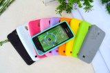 Изготовленный на заказ аргументы за HTC/Samsung/iPhone сотового телефона силикона