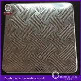 Feuille gravée en relief d'acier inoxydable de nouveaux produits pour le panneau de mur décoratif