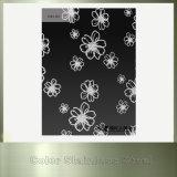 Chapa de aço inoxidável preta revestida do titânio decorativo para a parede do fundo da tevê