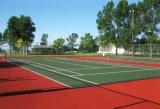 La corte di tennis, unità di elaborazione del silicone mette in mostra la corte