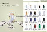Botellas plásticas lechosas 250ml del animal doméstico al por mayor con la cápsula del metal