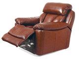 余暇のイタリアの革ソファーの家具(586)